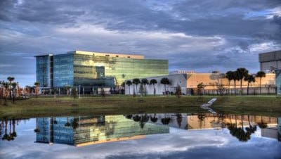 The Harris Technology Center in Palm Bay is one of the reasons for Brevard County's big jump in the Milken Best Performing Cities Index