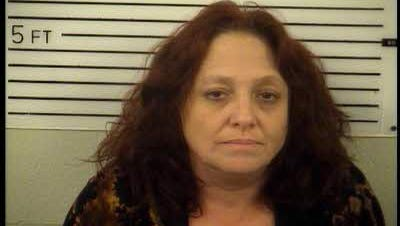 Felicia Clara Angel, 48, faces five felony charges in connection to a home break-in in the Sandy Mush community.