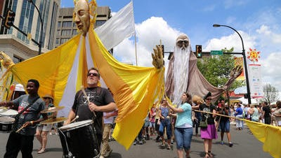 Street performers and parades are part of Artisphere presented by TD Bank, going on May 11-13.