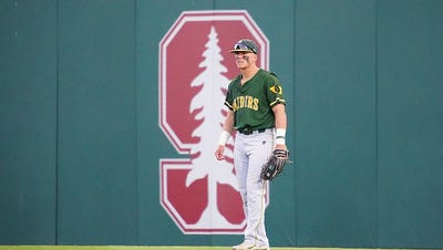 6/1/18 Klein Field at Sunken Diamond in Palo Alto, CA during NCAA Regionals: WSU vs Stanford. Chris M. Leung for College Baseball Daily