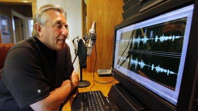 Gary Sullivan at his in-home recording studio