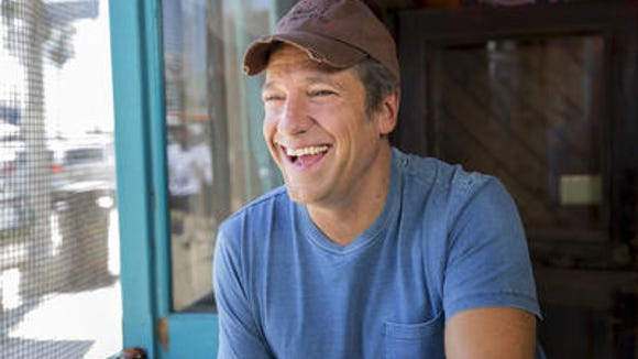 "Mike Rowe in a promotional shoot for the CNN series ""Somebody's Gotta Do It,"" that debuted this month."
