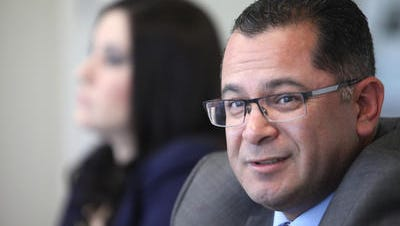 Coachella city council candidate V. Manuel Perez talks to The Desert Sun editorial board.