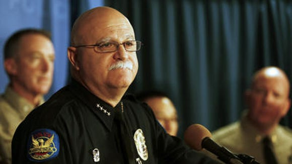 Phoenix Police Chief Daniel V. Garcia