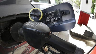 Gas prices dropped 10 cents in Sioux Falls in the last week.
