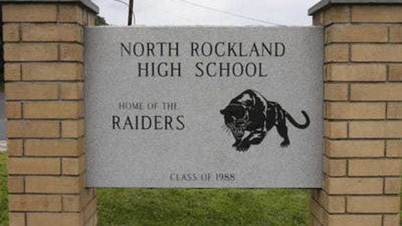 The exterior of North Rockland High School is pictured.