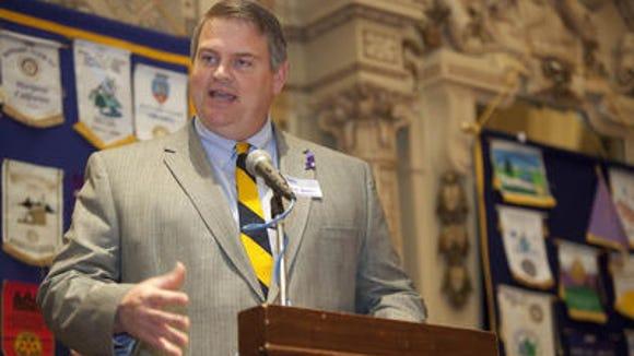 Delaware Sen. Colin Bonini, a Dover Republican, told The News Journal he will pursue a campaign for governor in 2016.