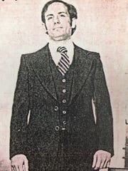 Joseph Labosco as a younger man. Authorities charged Labosco on Monday with first-degree murder for the 1980 killing of a New York man in Teaneck.