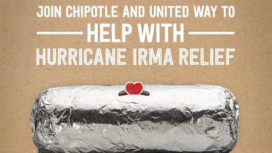 Chipotle Mexican Grill restaurants across Florida will