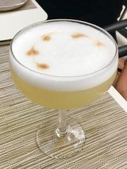 The fig daiquiri ($12) includes Don Q rum, Figenza