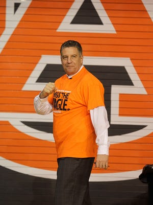 Bruce Pearl was hired by Auburn this spring after three years away from coaching following NCAA violations at Tennessee.