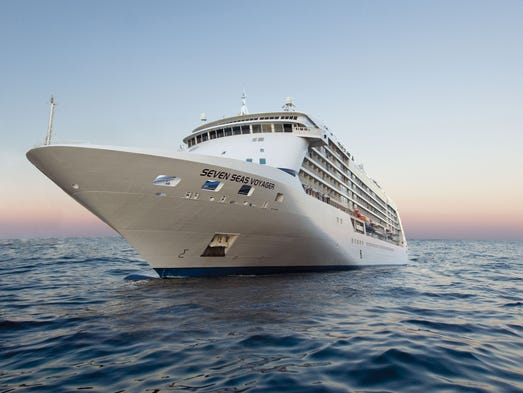 First Look Inside Seven Seas Voyager The Toprated Luxury Ship - Grand voyager cruise ship