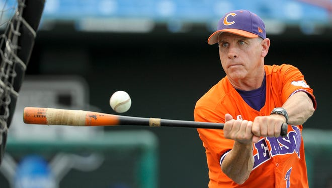 Clemson coach Jack Leggett's Tigers will compete in the regional this weekend at Vanderbilt. Commodores coach Tim Corbin coached under Leggett at Clemson in the 1990s.