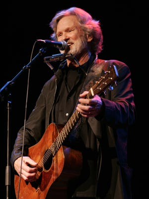 Kris Kristofferson, shown performing at Memorial Auditorium in 2006, returns to Burlington for a show Friday at the Flynn Center.