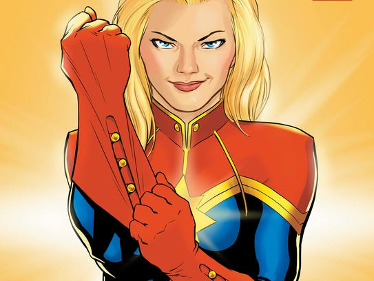 "The heroine from the ""Captain Marvel"" comic is getting"