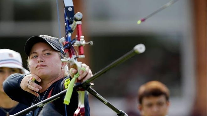 Miranda Leek, the Oregon Department of Fish and Wildlife's first archery education coordinator, was a double silver medalist in archery at the 2011 Pan American Games in Mexico and competed at the 2012 London Summer Olympics.