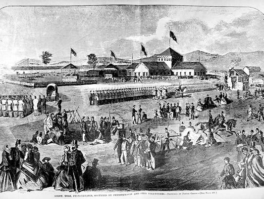 The Civil War impacted every corner of York County