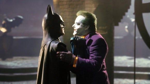 Tim Burton brought Batman into a new era with his 1989 movie starring Michael Keaton as Bruce Wayne/Batman and Jack Nicholson as The Joker.