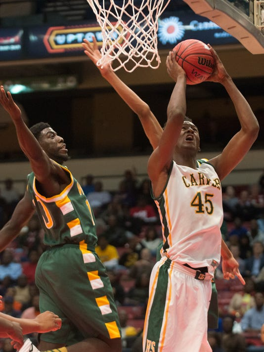 AHSAA State Boy's Basketball: Carver vs. Woodland