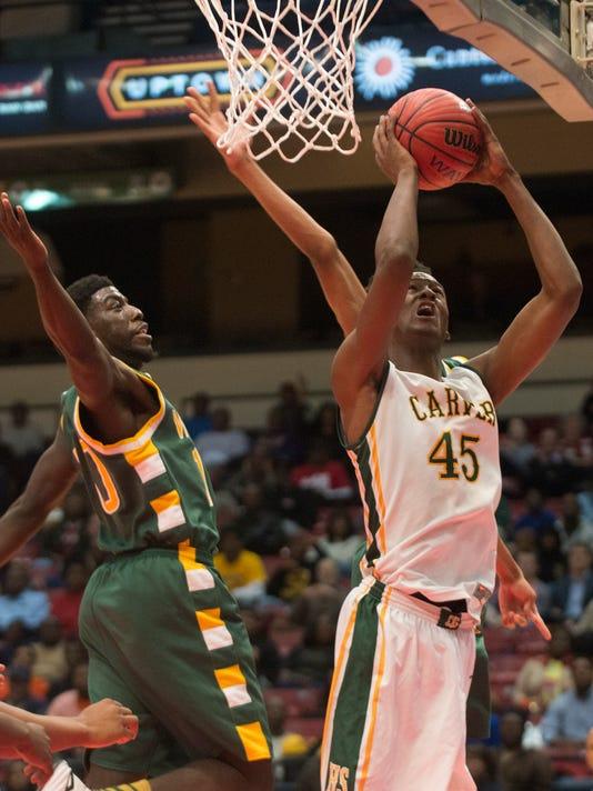 AHSAA State Boy's Basketball: Carver vs. Woodland