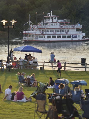 The Harriott II will offer fireworks cruises along the Alabama River at Riverfront Park during Second Saturday activities.