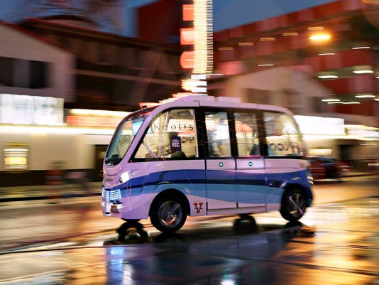 Self-driving electric shuttle buses to begin at University of Michigan