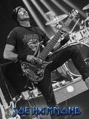 Joe Hammond, bassist of Maiden Immortal.