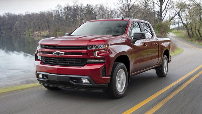 The 2019 Silverado debuted at the Detroit auto show earlier this year and is expected to arrive on dealer's lots this fall.