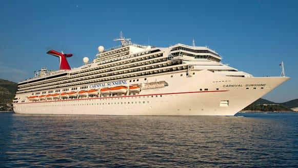 Cruise Carnival sunshine