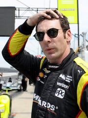 Team Penske IndyCar driver Simon Pagenaud (1) during