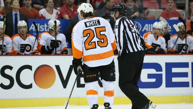 Ryan White was not suspended for his hit Sunday night on Tomas Jurco.