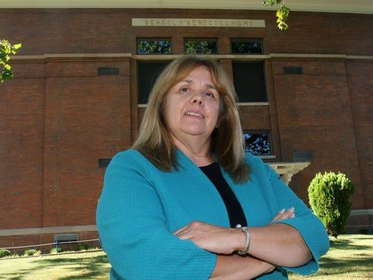 Buchanan Mayor Theresa Knickerbocker talks about the