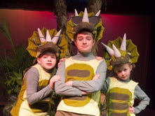 Kid actors time travel to land of 'Dinosaurs Before Dark'