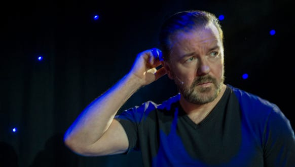 Ricky Gervais is back with a new stand-up special,