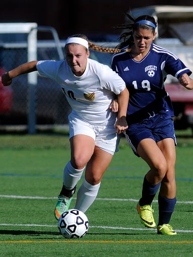 Arlington High School girls' soccer hosted Horace Greeley on Wednesday in Freedom Plains.
