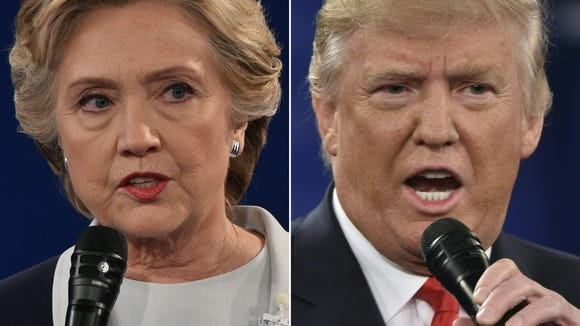 Democratic presidential candidate Hillary Clinton and Republican presidential candidate Donald Trump both have plenty of baggage.