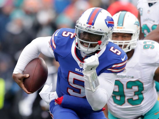 For the second year in a row, Tyrod Taylor was named