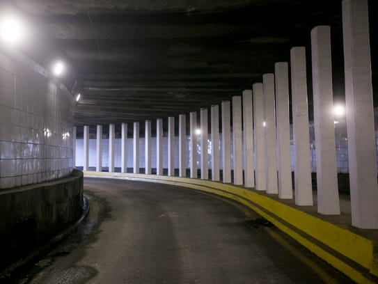 Under the project, workers will replace the tunnel's