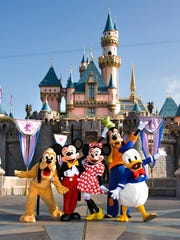 Invite an iconic Disney character or two to a private photo shoot inside Disneyland or California Adventure.