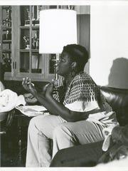 Eva Paterson Jefferson is seen at Northwestern University.