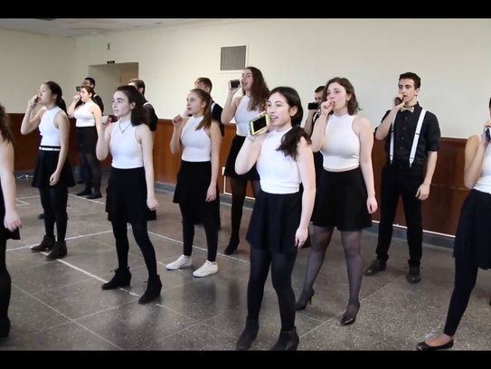 Millburn's a capella group Soulfege prepares for a