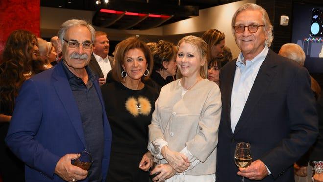 Steve LaSalvia, Angie Gerber, Hillary Marx and Bob Marx at The Vault Reception