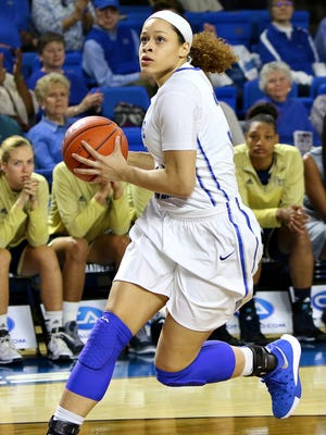 TiAnna Porter has become more confident at the end of the season, coach Rick Insell said.