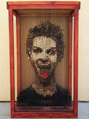Matt Fry's Bead Self Portrait