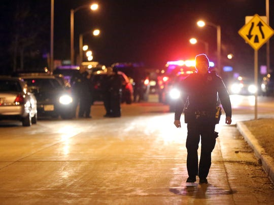 Police investigate a triple homicide on the city's southwest side, near the corner of S. 92nd St. and S. Beloit Road.