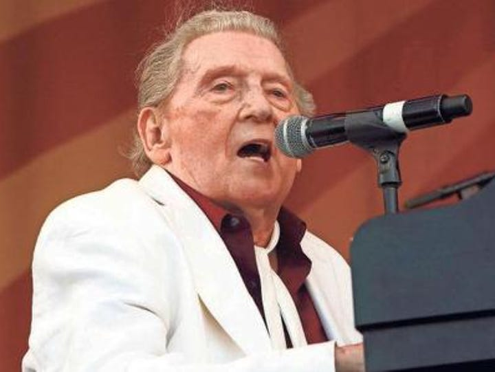 Jerry Lee Lewis will perform at the Peace Center Feb.