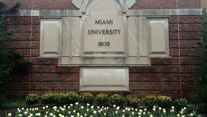 Miami University's main campus in Oxford