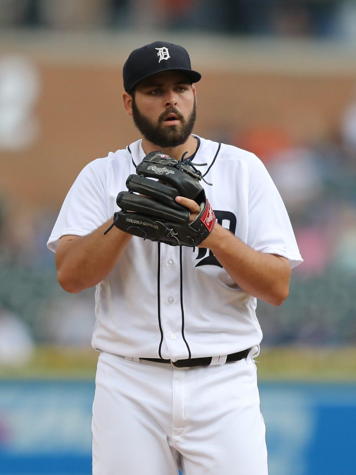 Tigers pitcher Michael Fulmer.
