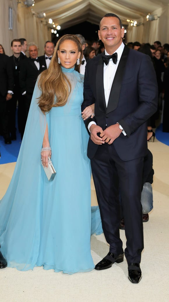 Jennifer Lopez and Alex Rodriguez linked up at the