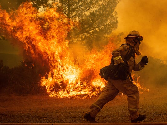 AP CALIFORNIA WILDFIRES RECORD A FILE USA CA